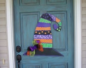 Witch Hat Door Hanger Halloween