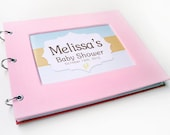 Baby Shower Guest Book - Baby Pink