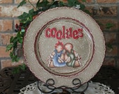 Gingerbread Cookie Tray...Home Decor...Kitchen Decor...Gingerbread Collector