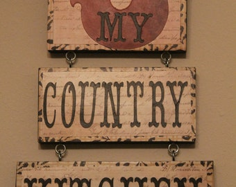 Rooster Decor....Country Kitchen Sign...Kitchen Decor..Home Decor..Country Kitchen..READY TO SHIP