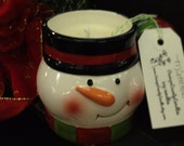 Christmas Tree, Soy Candle in a Cup, 10 ounce, ready to ship