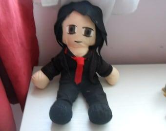 Gerard Way My chemical Romance Plush
