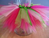 Strawberry Shortcake Pink Green Tutu - FAST SHIPPING