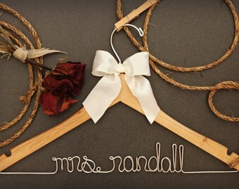Bridesmaid Gift | Bridal Party | Gift For Bride | Mother of the Bride | Mother of the Groom | Flower Girl Hanger | Flower Girl Dress | Bride