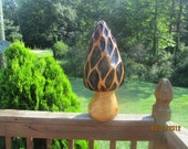 Chainsaw Carving Chainsaw Carved Cherry Mushroom