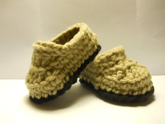 Little Man House Slippers/Baby Booties