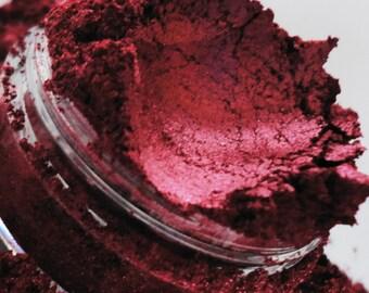 Shameless Eyeshadow Mineral Make up eyeliner 10g Sifter Jar red cherry rouge Eye shadow