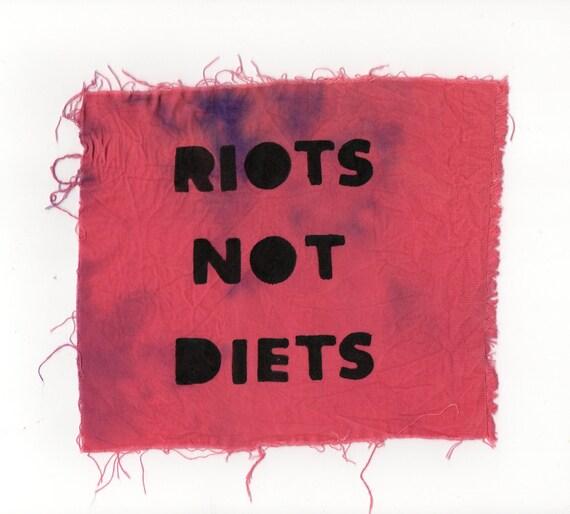 Riots not diets PATCH