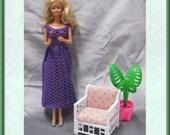 Purple Long Formal Gown