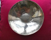 Antique Peruvian 925 Sterling Silver Bowl, dlrs125.00