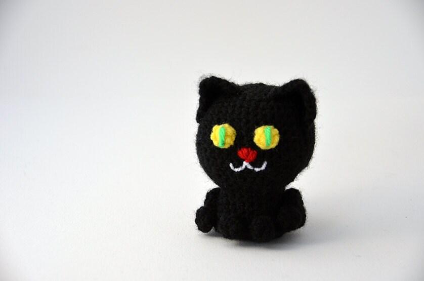 Halloween Amigurumi Crochet Pattern : Black cat crochet pattern black cat amigurumi amigurumi cat