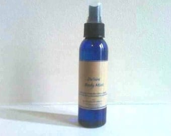 Amber Body Mist 4oz,Body spray