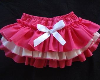 Beautiful Parley Ray Strawberry Delight Custom Boutique Ruffled Baby Bloomers/ Diaper Cover / Photo Prop