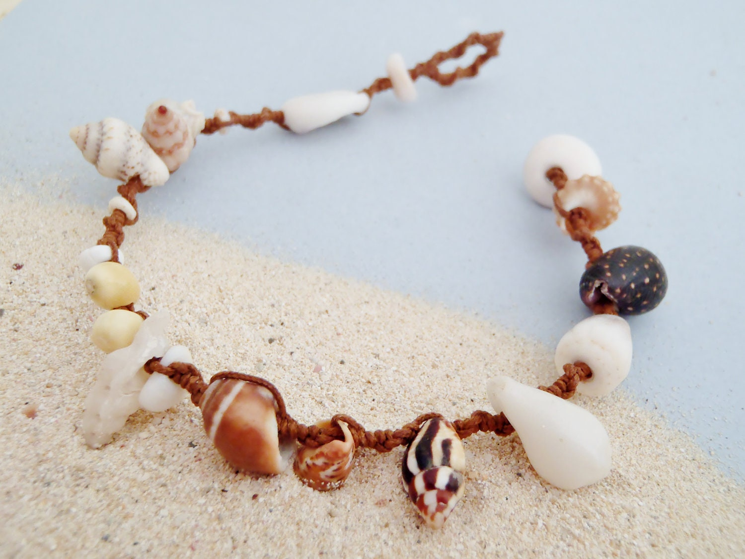 Image result for bracelets made of shells