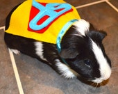 "Guinea pig costume cape ""SuperPig"" - Superman cavy cape costume"