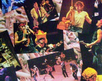 Bruce Springsteen and E Street Band Live 1975-85 Album Insert Booklet