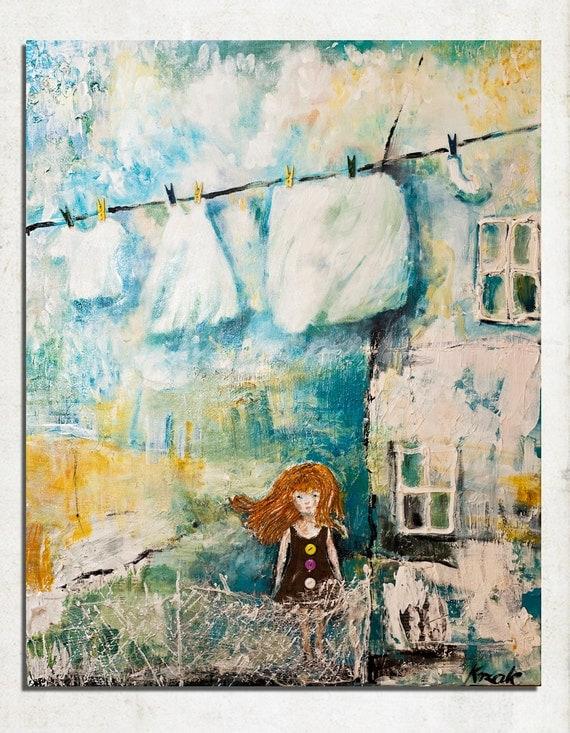Art, Mixed Media on Canvas created by Magdalena Krzak