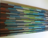 Modern ,Wood, Sculpture, Abstract ,Painting , Wall Art ,Reclaimed ,Wood wall art,Large, Rustic,Stripes,Men Interior Design Trends