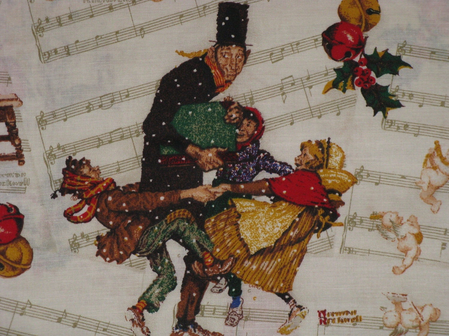 Norman Rockwell Christmas Prints - Best of Norman Rockwell Christmas ...