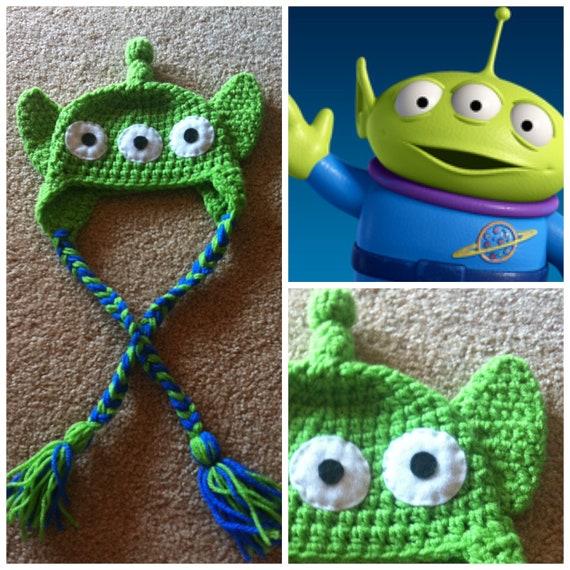 Crochet Disney Toy Story Alien Beanie/Hat