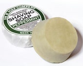 Peppermint Shaving Soap All Natural Skincare For Him PSS