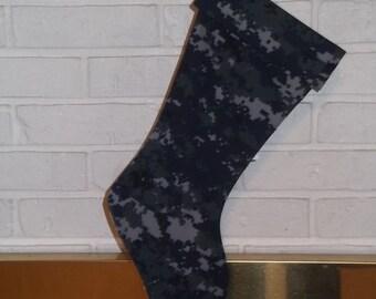 U. S. Navy  Christmas Stocking