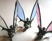 Stained Glass|Fairy|Stained Glass Fairy|Window Decoration|Shelf Decoration|Home & Living|Home Decor|Ornament|Accent|Handcrafted|Made in USA