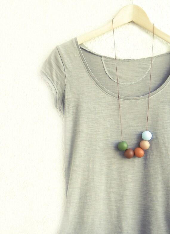 Handmade round beads Necklace