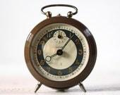Vintage French BAYARD  Alarm clock - Brown