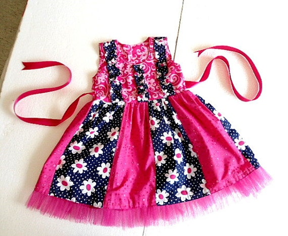 Baby Girl Dress Cutting Pattern Sewing Pattern Girls Dress