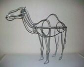 Camel Sculpture Topiary Yard Art
