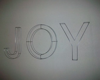 Wire Letters Twenty Inch Tall