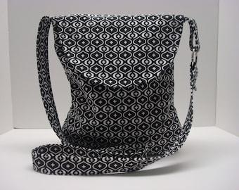 Cotton cross body bag