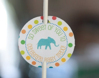 Set of 12 Cake Pop, Sucker or Lollipop  Tags - Perfect for Birthdays, Showers etc - Can Be Made to Match ANY Theme in My Shop
