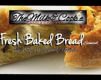 Baked Bread Soy Candle Fresh Baked Bread Aroma
