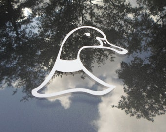 Duck Head Decal - Choose any color