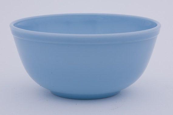 Vintage Bluebelle Pyrex - Blue Delphite Mixing Bowl - 2 Quart