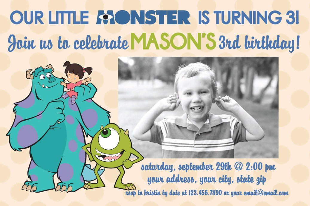 il_fullxfull.368700029_inru monsters inc birthday invitations wblqual com,Monsters Inc Birthday Invitations