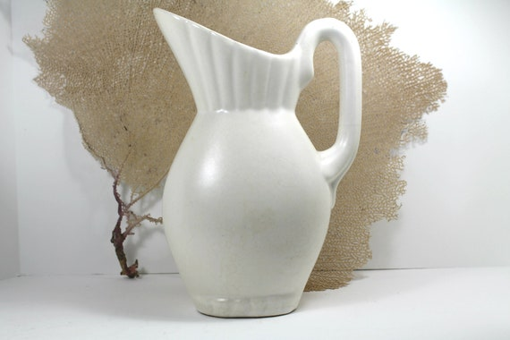 vintage Cal-Art pottery pitcher-collectible