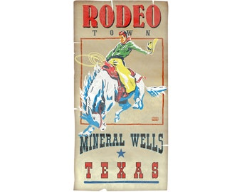 Rodeo Mineral Wells, Texas