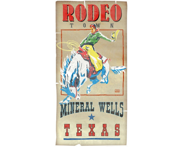 Rodeo Mineral Wells Texas