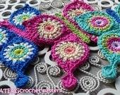 Crochet pattern BUTTERFLY by ATERGcrochet