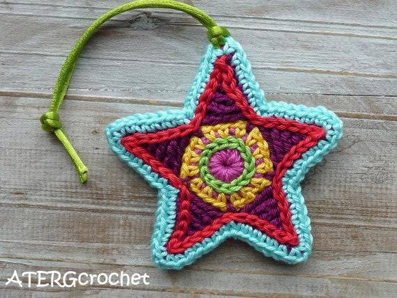 Christmas star by ATERGcrochet
