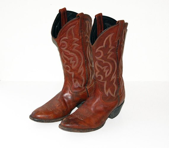 s tony lama cowboy boots size 8 5