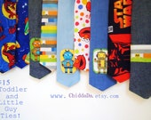 Custom Holiday Fun Neckties - Any size - toddler to adult