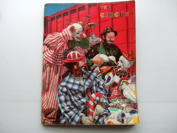 The Circus - Vintage Picture Book 1961 - Ideal Publications