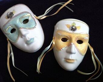 Vintage Decorative Mardi Gras Masks
