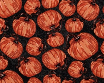 Pumpkins, Harvest Fabric, Pumpkin Fabric, Autumn  Fabric, Thanksgiving Fabric, Fall Fabric, Autumn Friends by Blank Quilting, 01003