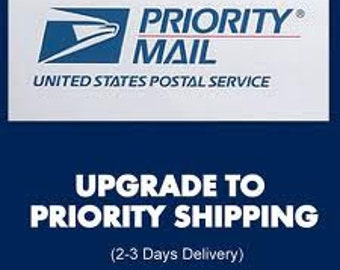 PRIORITY MAIL - Upgrade to Priority Mail with USPS