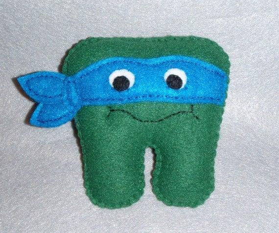 Teenage Mutant Ninja Turtle Tooth Fairy Pillow